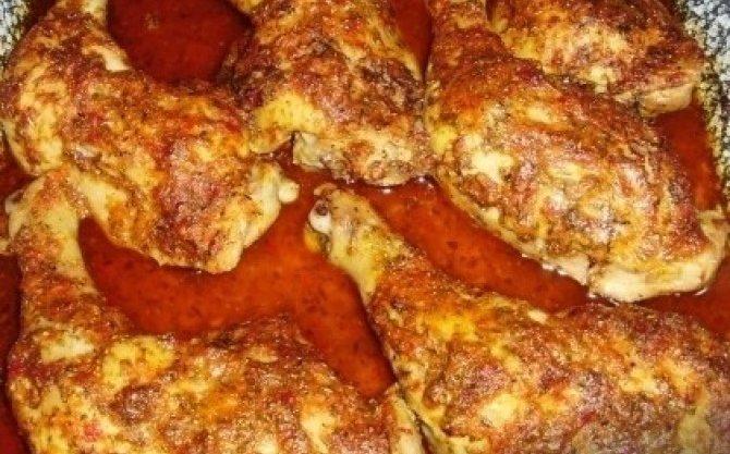 fuszeres csirkecomb